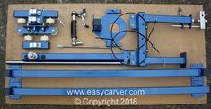 Easy Carver fully dismantled