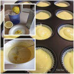 Sitruunamuffinit ohje Pudding, Desserts, Food, Tailgate Desserts, Deserts, Custard Pudding, Essen, Puddings, Postres