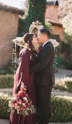 bride and groom - moody boho micro wedding Diy Wedding Inspiration, Creative Wedding Ideas, Second Weddings, Real Weddings, Wedding Pantsuit, Wedding Dress, Budget Wedding, Wedding Planning, Wedding Motifs
