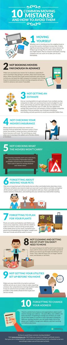 Common Moving Mistakes & How to Avoid Them