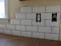 Do It Yourself Subway Tile Backsplash
