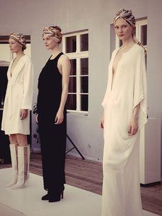 Live von der Mercedes Benz Fashion Week: Lala Berlin, Spring/Summer 2013 In Kooperation mit Veuve Clicquot.