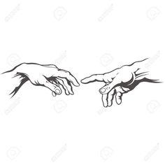 Image result for god's finger touching adam