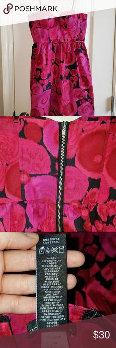 Moda International floral dress size 0 pretty floral dress great for summertime Moda International Dresses Mini