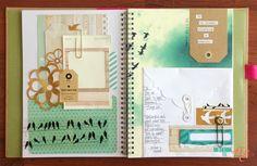 Todo lo que necesitas para scrapbooking y manualidades está en mitiendadearte.com SmashBook bird-pages