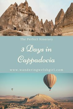 Top things to do in the magical landscape of Cappadocia. The perfect 3 day Cappadocia itinerary #turkey #cappadocia Best Travel Guides, Travel Advice, European Travel Tips, Jordan Travel, Top Travel Destinations, Turkey Travel, Cappadocia, Asia Travel, Travel Around The World