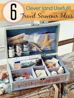 6 Clever (and Useful!) Travel Souvenir Ideas from Tipsaholic.com #vacation