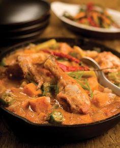 Ghana Recipe: West African Groundnut Chicken by Chef Ric Orlando - Hudson Valley Magazine