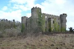 Ruperra Castle: Abandoned Mansion in Wales - built in 1626. It hosted King Charles I after the Battle of Naseby in 1645 and was rebuilt after a fire in 1785. It was used during WWII by the British Army when it was gutted by a second fire in 1941. It's been decaying ever since. In 2010 it was put up for sale for 1.5 million pounds.