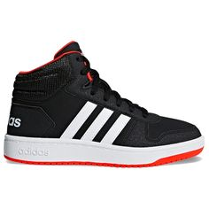 online retailer 4f0a5 12079 adidas VS Hoops Mid 2.0 Boys  Basketball Shoes, Boy s, Size  3, Black