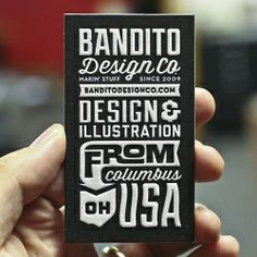 Inspired by - Design. Process shots from the Mama's Sauce letterpress studio as they smushed up some cards for Bandito Design Co.