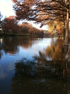 The Blanco River, Wimberley, Tx - FALL