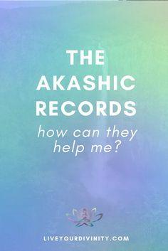 How to access the Akashic Records and how can the Akashic Records can help me for self healing? Find out how to use the information from the etheric plane, find your purpose, your past life and soul lessons.