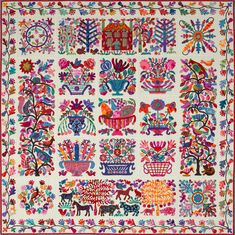Roseville Album by Kim McLean.... Got all the fabric, doing this NEXT!