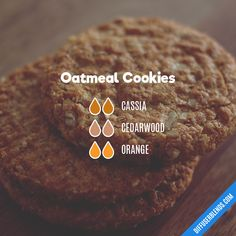 Oatmeal Cookies — Essential Oil Diffuser Blend