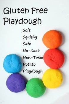 cooking with kids: homemade gluten free play dough