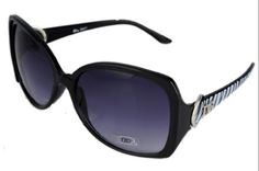 DG Eyewear Black w  Grey Zebra Sunglasses JE77362BGZ  Free Micro Fiber Bag ** Check out this great product.Note:It is affiliate link to Amazon.