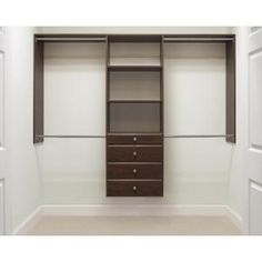 Martha Stewart Living, 72 in. H x 96 in. W Espresso Ultimate Closet Kit, 680072-T at The Home Depot - Mobile @cjmiles7