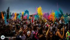 The Holi Festival Of Colours tour is back with a bang and will be more colourful than ever! Merida, Holi Festival Of Colours, Picture Video, Pictures, Painting, Mood, Videos, Art, Photos