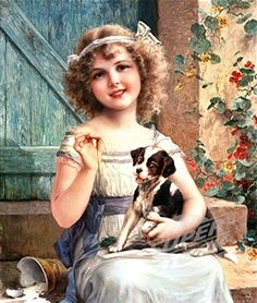 """""""Waiting For The Vet"""" by Emile Vernon"""