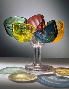 Bořek Šípek - Elton John bowl Glass Molds, Pressed Glass, Carnival Glass, Czech Glass, Design Art, Glass Art, Bohemian, Crystals, Tableware