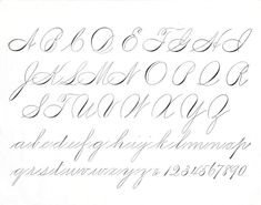 Learn Calligraphy - Spencarian
