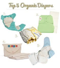 Looking for organic cloth baby diapers? Here are 5 options for organic cloth diapers.
