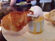 NOM NOM NOM! Back Off! This Is My Croissant!
