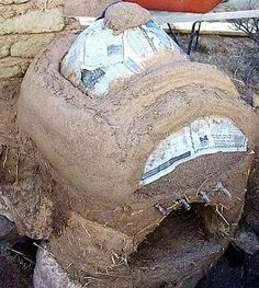 wood fired cob oven - I want one of these!