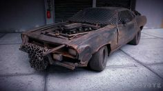 Plymouth Cuda Zombie Crusher madmax Highway 61 diecast model car 1/18 - Buy/Sell Diecast car on Alldiecast.co.uk