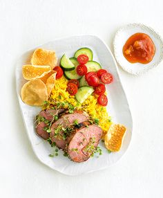 Give lamb a spicy update with this Tandoori-inspired recipe, serve with plenty of pilau rice, papadums and mango chutney.