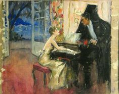~ Cucuel Edward ~ American Impressionist 1875-1954