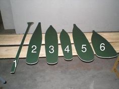 paddles shapes