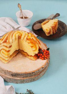 Mango Charlotte Cake