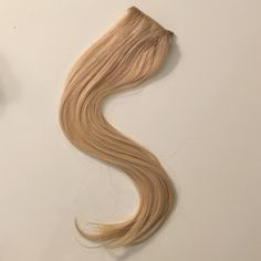"100% human hair blonde extensions 21"" Light blonde 100% human hair from Korea, ""silky"", 21 inches with 3 clips. Double row which is thick enough to add length or volume. These last for years, they do not need to be replaced. They can be curled, straightened, washed, even dyed and the quality remains silky smooth. Retails for over $550! Accessories Hair Accessories"