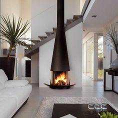 Haz considerado tomar al fuego, ya sea en una chimena, estufa o similar cómo elemento decorativo???? Disfruta de estas propuestas....