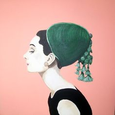 audrey in hat-- sarah ashley longshore. love love love must have this!