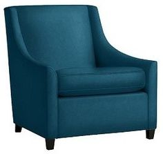 Sweep Upholstered Armchair   Contemporary   Armchairs   By West Elm Change  The Color But Love
