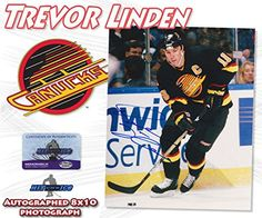 Trevor Linden Vancouver Canucks Photo
