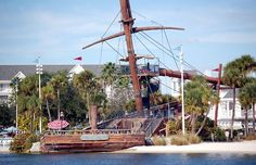 Stormalong Bay Slide @ Disney's Yacht and Beach Club Resorts