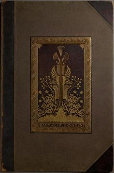 "Owen Jones' ""Grammar of Ornament"" (1856) - Just Incredible. I just saw it at part of the ""Cult of Beauty"" exhibit in SF."