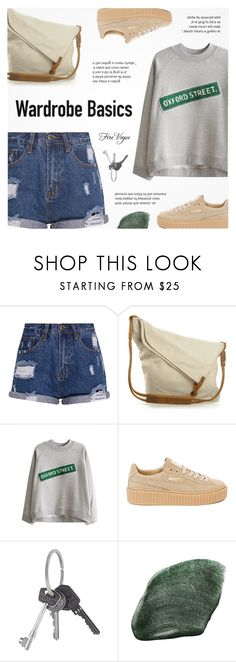 """Wardrobe Basic - Firevogue.com"" by novalikarida ❤ liked on Polyvore featuring Puma, Givenchy and NARS Cosmetics"