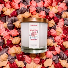 Learn more about the perfect meditation candle. We enjoyed this collaboration! The perfect gift for someone who loves candles!!! Click website! #candles Soy Candles, Candle Jars, Pineapple Sage, Cupcake Icing, Beauty Box, Cocoa Butter, Wax Melts, Beautiful Day, Holiday Gifts