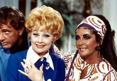 Richard Burton, Lucille Ball, and Elizabeth Taylor. This was my ALL TIME FAVORITE show of I love Lucy........