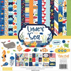 "Echo Park Under The Sea Collection Kit - 12"" x 12"""