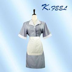 #design housekeeping uniform, #maid service uniforms, #cotton maid uniform