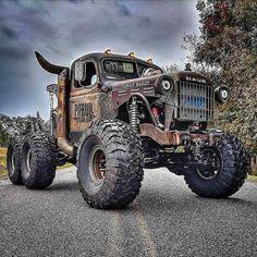 rat rod trucks and cars Jacked Up Trucks, Dodge Trucks, Cool Trucks, Big Trucks, Truck Drivers, Dodge Cummins, Dually Trucks, Lifted Chevy, Mudding Trucks