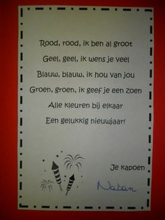 Afbeeldingsresultaat voor nieuwjaarsbrief baby Christmas And New Year, Christmas Time, Diy For Kids, Crafts For Kids, Merry New Year, Baby New Year, New Year's Crafts, Little Baby Girl, Nouvel An