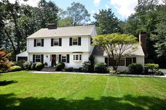 Classic-Style Colonial Home  15 Hickory Ln - Darien, Connecticut. Represented by Julie Bauer. See more eye candy on this home at www.halstead.com/98512388