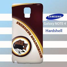 Washington Redskins Samsung Galaxy Note 4 Case Cover Hardshell